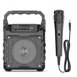 Bluetooth Speakers with Microphone USB/TF/AUX/ FM Radio Portable Outdoor Wireless Speaker Rich Bass Stereo Sound