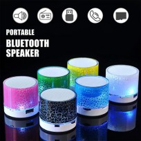Wireless Mini Wireless LED Bluetooth Speakers TF USB FM Stereo Subwoofer Music Audio
