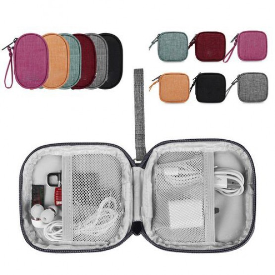 Power Bank Bag USB Gadgets Cables Wires Organizer hard disk Protection Storage Bag