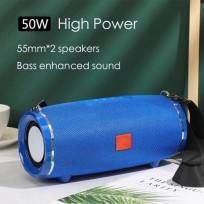 High Power 50W Bluetooth Speaker Waterproof Portable Column Soundbar Bass Stereo Subwoofer TG Speakers With FM AUX TF USB