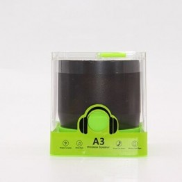 A3 Mini Speakers 3D Stereo Music Surround Wireless Bluetooth Speakers Portable Bluetooth Sonud Bass Support TF Cards USB