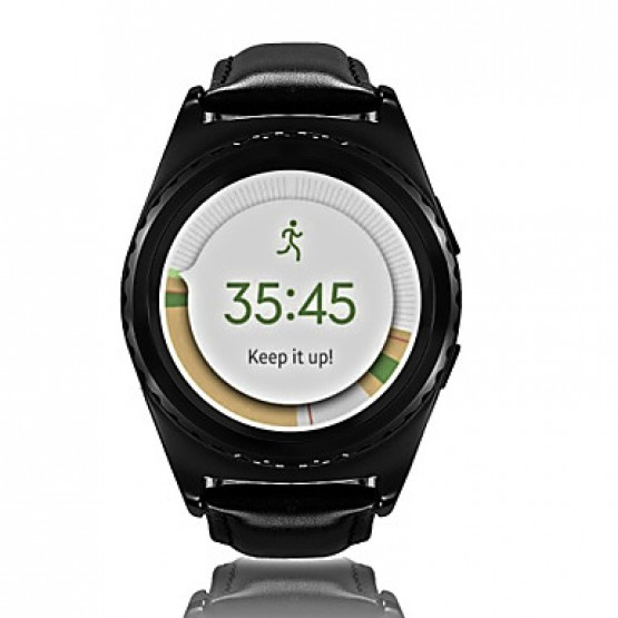 NO.1 G4 Smart Watches, Bluetooth 3.0/Heart Rate Monitor/Activity Tracker/Hands-free Calls for Android