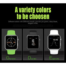 DM09 Smart Watch , Bluetooth / Hands-Free Calls/Heart Rate Monitor/Activity Tracker (Assorted Color)